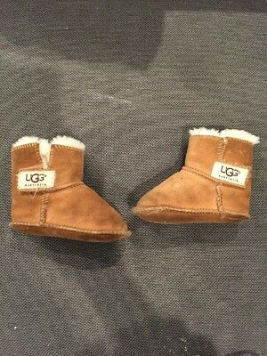 d04f2b08722 UGG ERIN Baby Bootie Size Small Chestnut