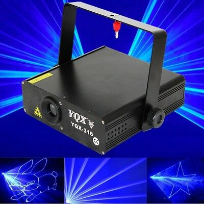 1W/1000mW Blue450nm Animation ILDA/DMX/SOUND/AUTO DJ Stage Laser Disco Light