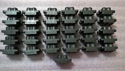 ZUA73 QTY 31 pcs 1648574-1 ELCON Female Socket Housing 4 Power Positions 0.725""