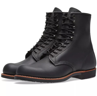 Red Wing Harvester 8-inch Combat Military Boots Size Men US 5.5   Women US edf7df3e68