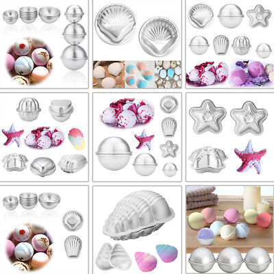 8 Shape Metal Aluminum Bath Bomb Molds Moulds DIY Homemade Crafting GIFTS