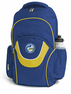 Parramatta Eels NRL Fusion Backpack with 3 Compartments! School Gym Bag!