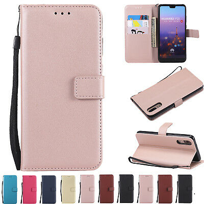 Luxury Flip Magnetic Leather Wallet Case Stand Cover for Huawei P20 Mate 10 Lite