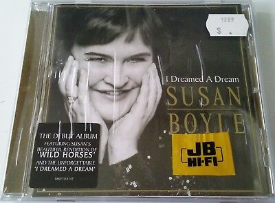 SUSAN BOYLE I Dreamed a Dream Music CD NEW & SEALED