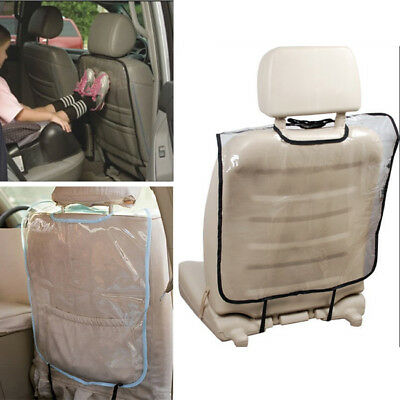 Car Seat Back Covers kicks Transparent Protector Cover Cushion Clean Vehicle
