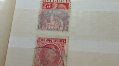 belgium stamps old rare collectible antique b4