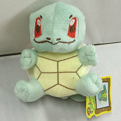 "ON SALE NEW POKEMON POKE DOLLS Squirtle~ 4""  PLUSH DOLL FREE SHIPPING"