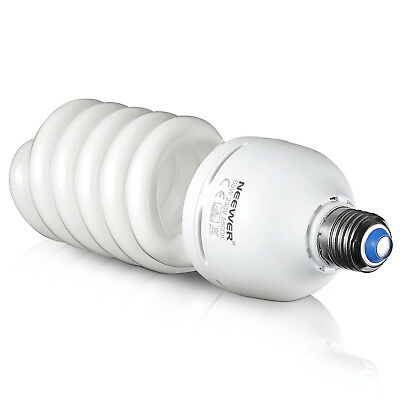 Neewer Studio 65W 220V Tri-phosphor Spiral CFL Daylight Balanced Light Bulb