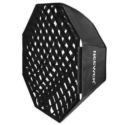 "Neewer Portable Studio Octagon Softbox with Grid Bowens Mount 30""x30"" Beehive"