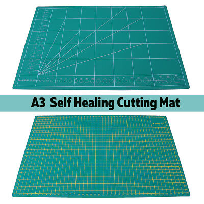 A3 PVC Self Healing Craft Cutting Mat  Grid Lines Printed Quilting Scrapbooking
