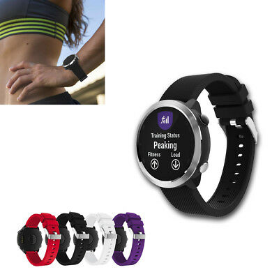 Quick Replacement Sport Soft Silicone  Wirst Band Strap For Garmin Vivoactive 3