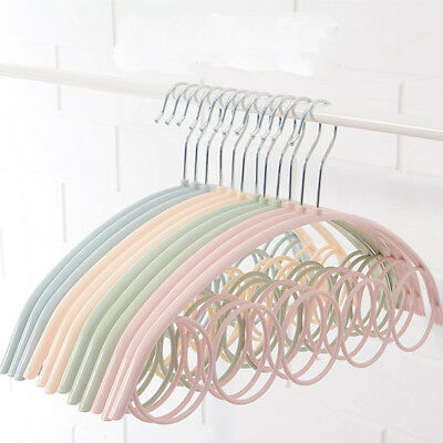 ITS- 5Holes Ring Holder Hook Scarf Wraps Shawl Ties Storage Hanger Bathroom Shel
