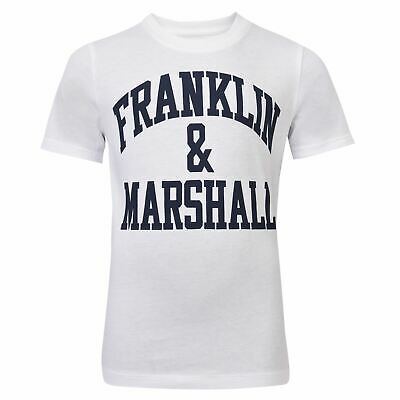 Franklin and Marshall CF Lgo Tee Youngster Childrens Crew Neck Shirt
