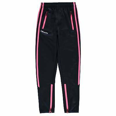 ONeills Cooper Skinny Pants Youngster Girls Poly Tracksuit Bottoms Zip Fit