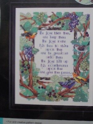 Artiste Zweigart The Lord Bless Thee Counted Cross Stitch Kit New A10902