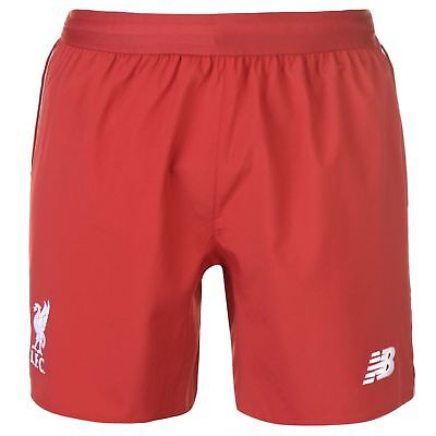 47e943ef205d0 New Balance Liverpool Home Shorts 2018 2019 Mens Gents Domestic Pants  Trousers