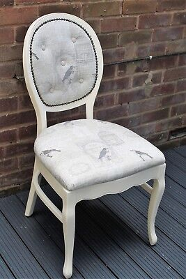 shabby chic French style occasional/boudoir chair