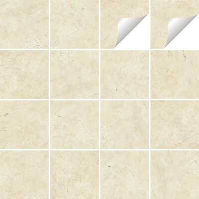 Tile Stickers Transfers Marble Kitchen Bathroom Various Sizes & Custom Size - M3