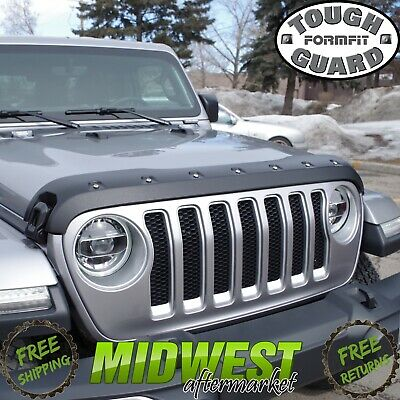 FormFit Textured Tough Guard Hood Protector For 2018 Jeep Wrangler JL