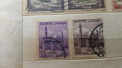 Stamps bundle Egypt rare antique stamp b6