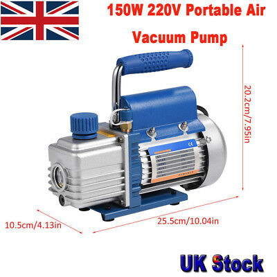 150W 220V FY-1H-N Air Vacuum Pump with Cable for Air Conditioning Refrigerator