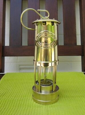Miners Type Safety Lamp Made By E. Thomas And Williams Ltd.