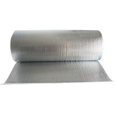 "Double Bubble Foil Heat Shield Insulation Reflective Wrap Radiant Barrier 39""W"
