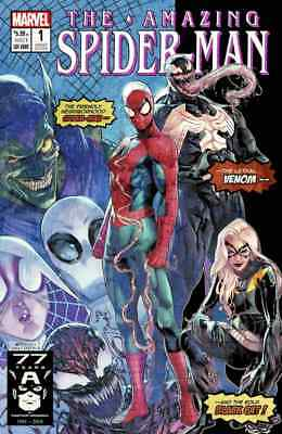 AMAZING SPIDERMAN 1 vol 5 2018 JAMAL CAMPBELL 1000 PRINT RUN VARIANT NM