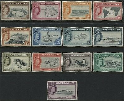 Ascension QEII 1956 set complete mint o.g.