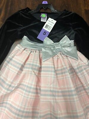 Nwt Dollie & Me Little Girl's Dress - Size 5