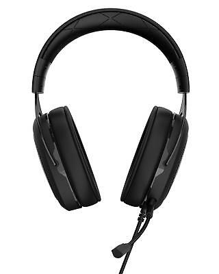 CORSAIR - HS50 Wired Stereo Gaming Headset for PC, Xbox One, PS4, Nintendo Sw...