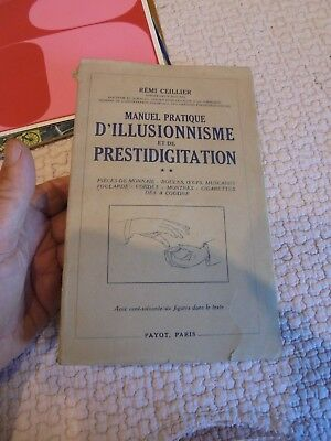 Manuel Pratique d'illusionnisme et de Prestidigitation ( Maggie ) Rémi Ceillier