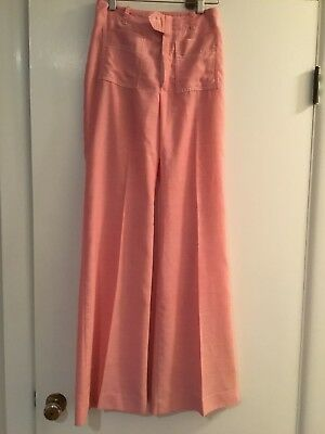 Vintage 1960 Bagatelle Bellbottom cotton pants