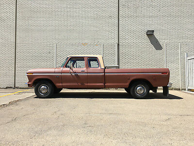 Ford: F-250 Camper Special Great Condition Survivor Truck
