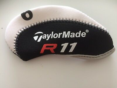 11 new R H taylormade  R11 Black / white Golf CLUB iron head covers HEADCOVERS