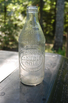 Vintage Double Cola Soda 12oz Bottle