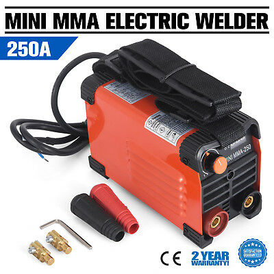 250A Stick ARC DC Inverter Welding Machine MINI MMA-250 Handheld Electric Welder