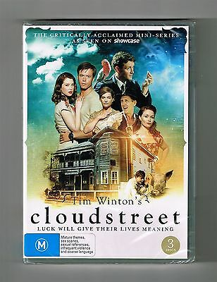 Cloudstreet -The Complete Mini-Series Drama Dvd 3-Disc Set Brand New & Sealed