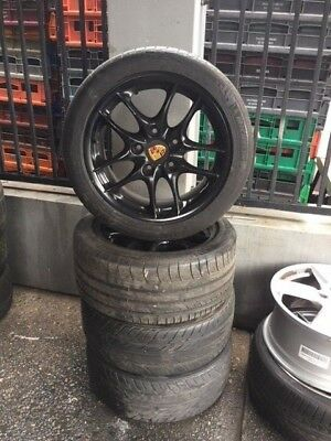 Early Model Porsche Boxster Rims with Tyres