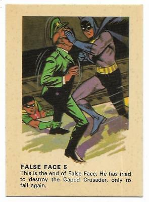 1966 Batman Weeties & Rice Krinkles False Face 5 Near Mint