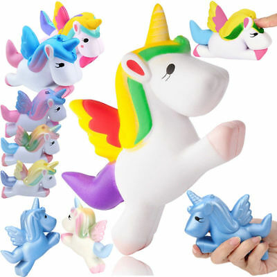 Jumbo Slow Rising Squishies Scented Unicorn Squishy Squeeze Stress Reliver Toys