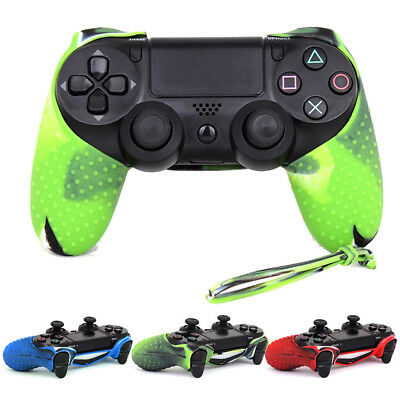 Silicone Rubber Soft Case Grip Cover Skin Fit Sony Playstation 4 PS4 Controller