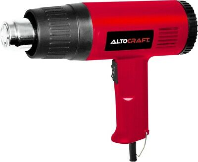 1500W Dual Temperature Heat Gun with Accessories Shrink Wrapping 4 Nozzles New