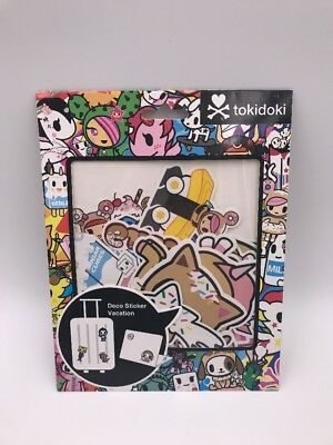 Tokidoki Deco Sticker Vacation: Luggage Stickers: Donutella and Friends (AAA)