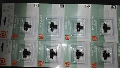 10 x IR40T INK ROLLERS CASIO SHARP XEA102 XE-A102 Black & Red Ink