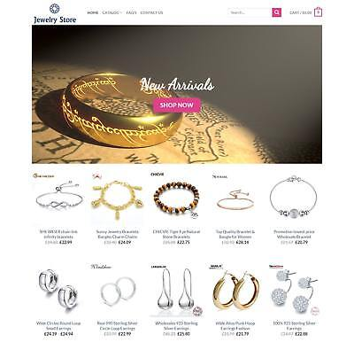 Established Jewelry STORE Profitable Website Business For Sale - Dropshiping