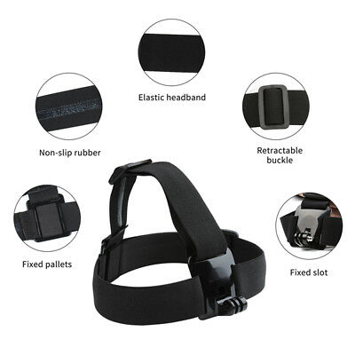 Camera Head Strap Outdoor Mount Belt Elastic Headband For GoPro Hero series BC2