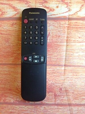 GENUINE REMOTE CONTROL UR51EC780 PANASONIC TV VCR VIDEO Model tested Working
