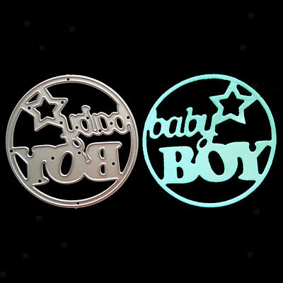 DIY Baby Boy Metal Cutting Dies Stencil for Scrapbook Paper Craft Embossing