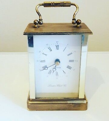 London clock company carriage clock